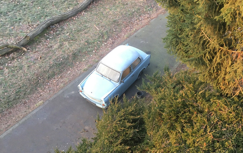 A neat barn find – Trabant P601