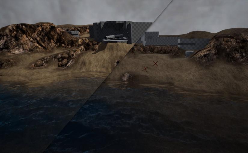 Improving the map lighting
